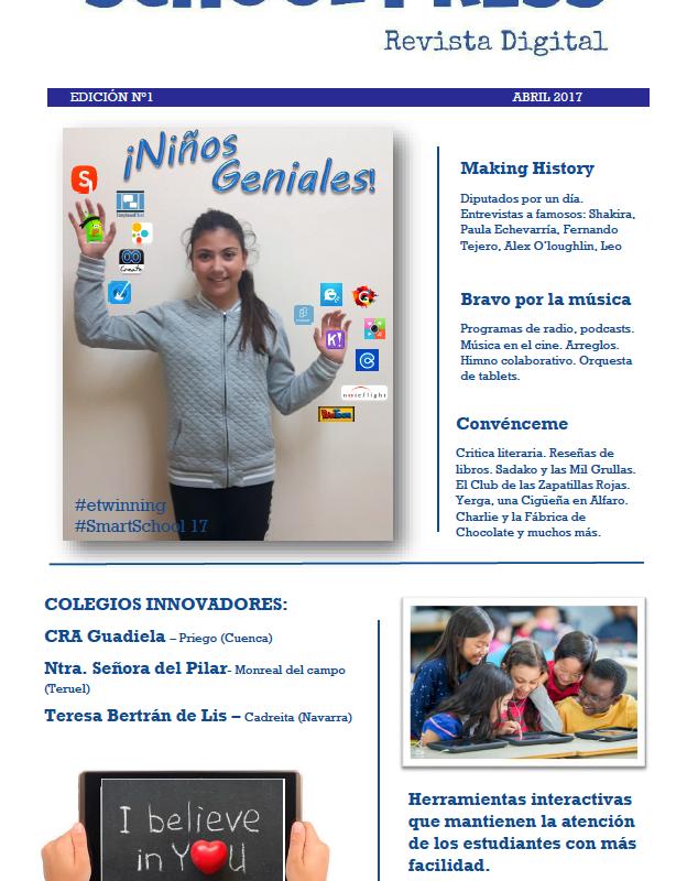 ¡¡¡YA ESTÁ DISPONIBLE…!!! REVISTA SCHOOL PRESS